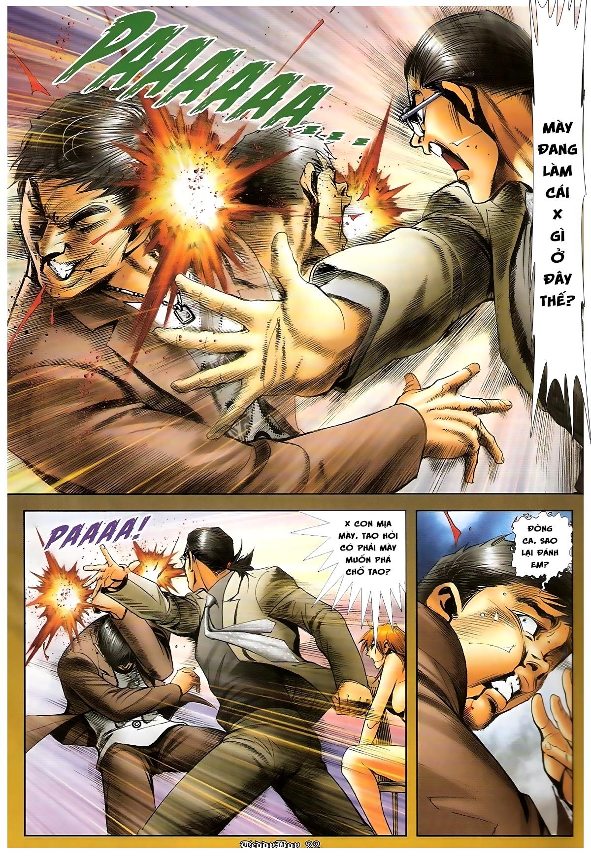 Người Trong Giang Hồ - Chapter 1265: Bát vàng rửa tay - Pic 19