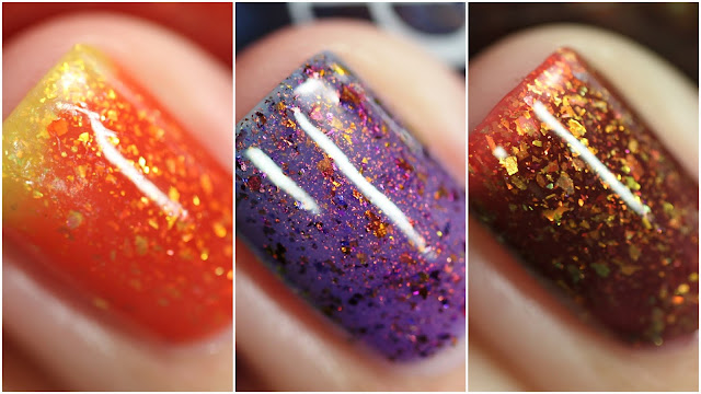 Paint It Pretty Polish Halloween Thermal swatches
