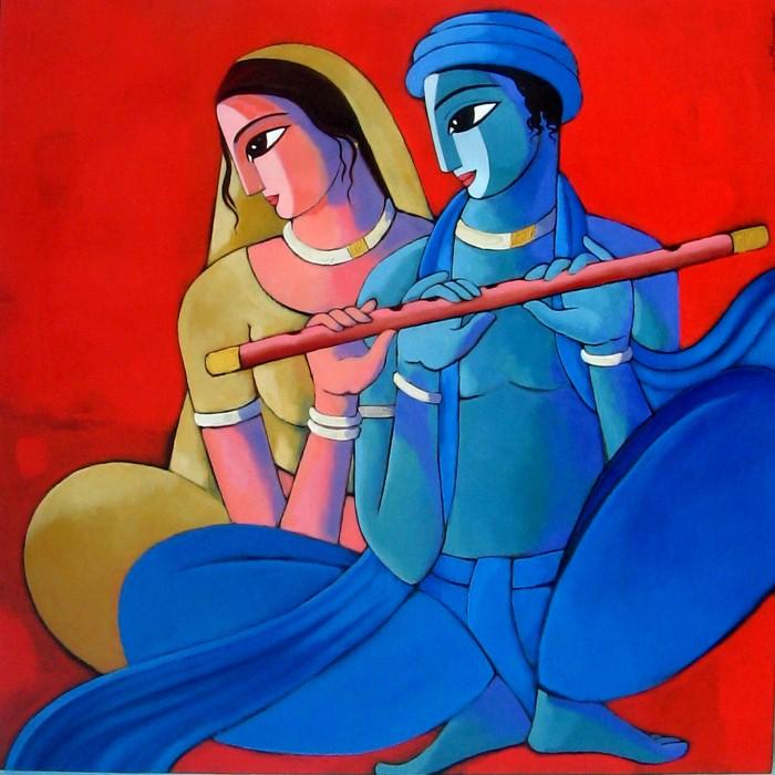 Sekhar Roy. Современный индийский художник 9