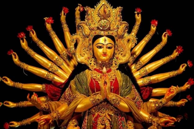 Durga Puja Wallpapers Calendar 2019 Download | Dussehra Wallpapers HD Download