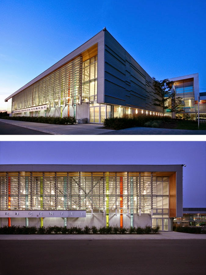 Brampton Soccer Centre In Ontario Canada By MacLennan Jaunkalns Miller Architects
