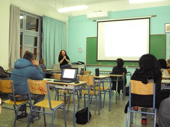 Ενημέρωση για την  Εθελοντική Αιμοδοσία στο Εσπερινό ΓΕ.Λ. Ναυπλίου