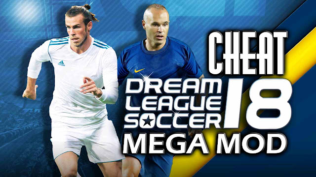 cheat dream league soccer 2018 mega mod