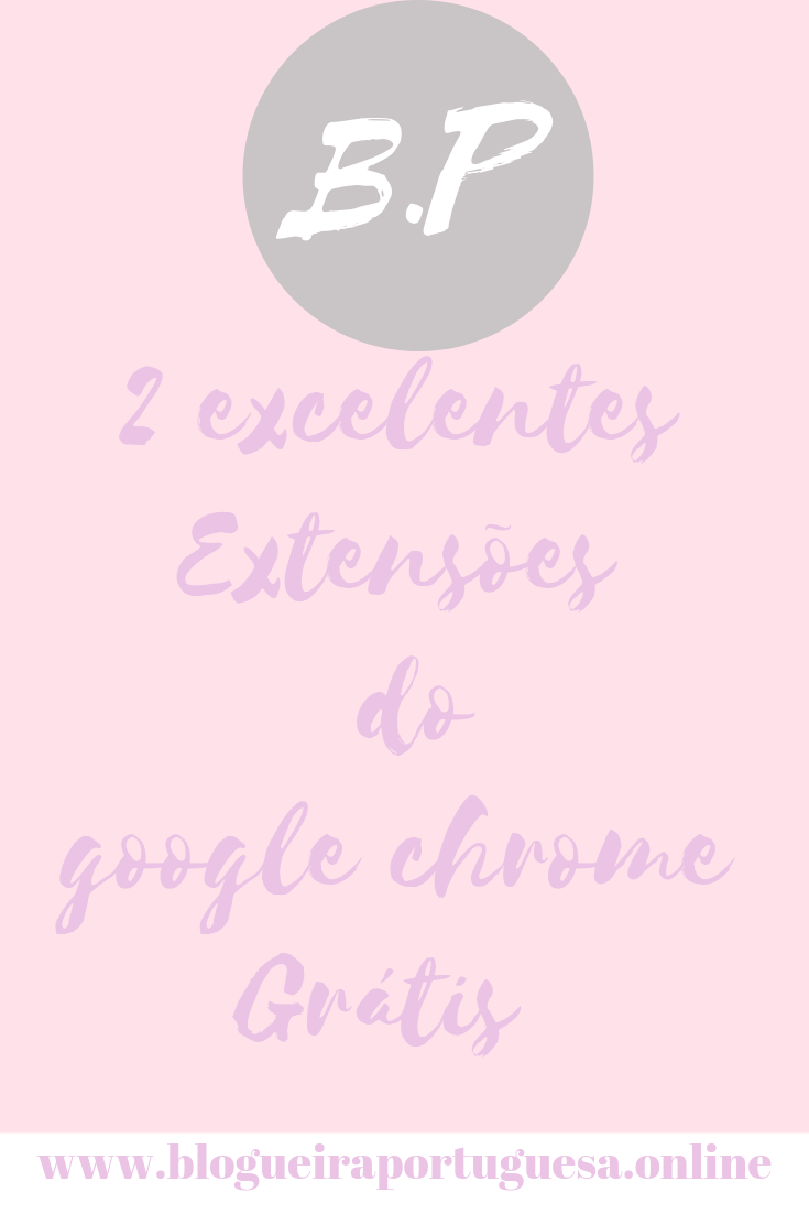 Extensões grátis do google