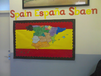 Grammazzle >Corchera Mapa España Map Spain Sbaen