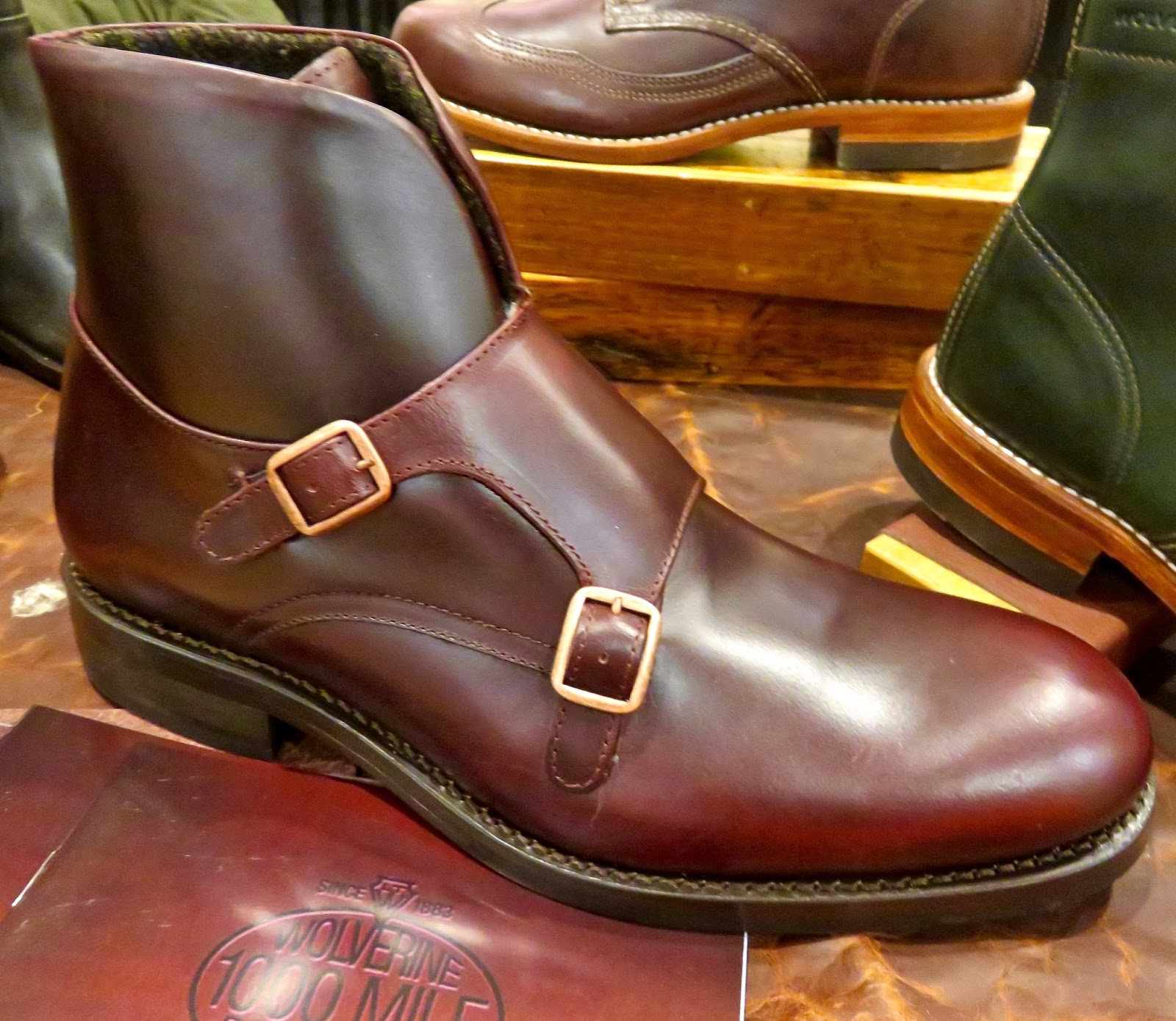 26035d85d5f WOLVERINE BOOTS-Fall Men's 1000 MILES/Rockford, MI Collection