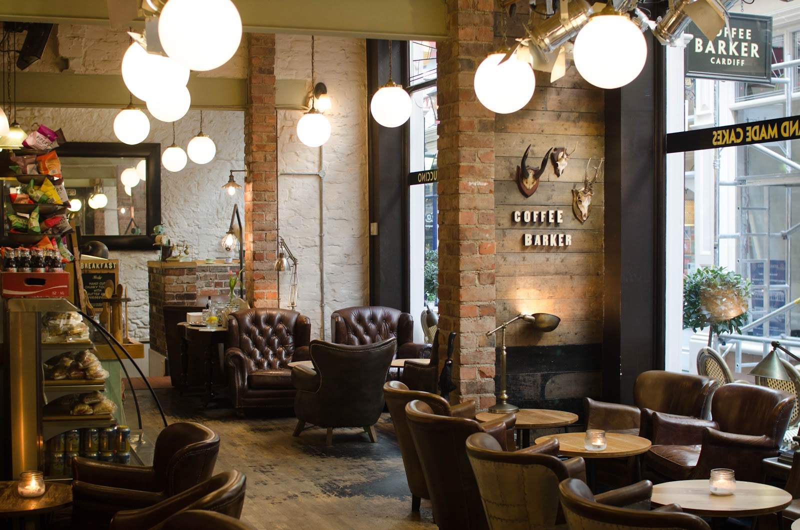 Coffee Barker: Eat The Furniture Instead {Cardiff | Review}