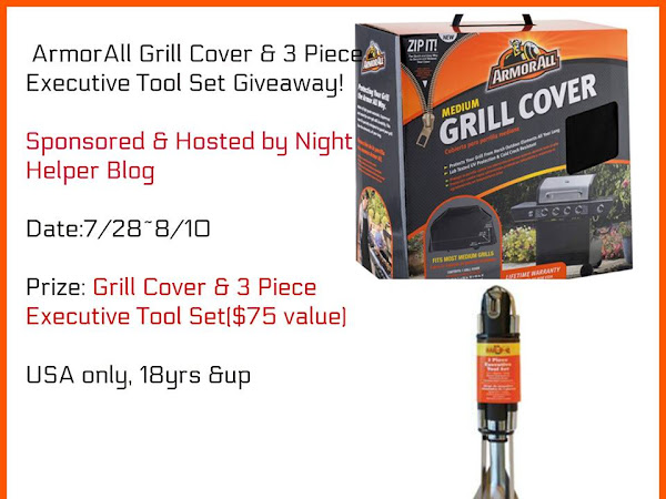 ArmorAll Grill Cover & 3-Piece Executive Tool Set #Giveaway