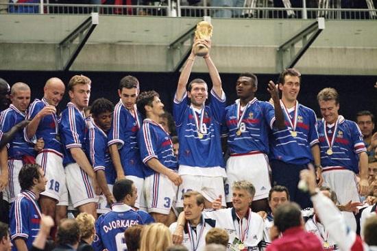 Pháp vô địch WC 1998