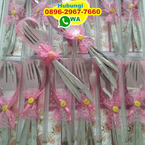 harga souvenir sendok garpu murah 51043