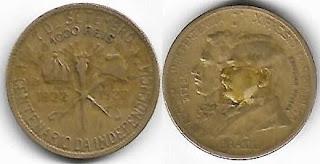 Moeda de 1000 Réis, 1922