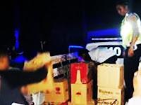 "Jualan Miras di Bulan Suci Ramadan, Polres Pangkep Gerebek Toko Milik ""R"" di Malewang"
