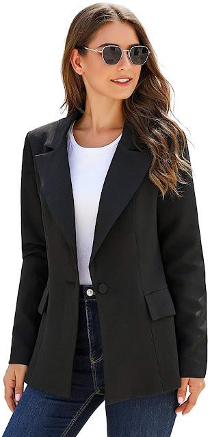 Women's Black Blazers