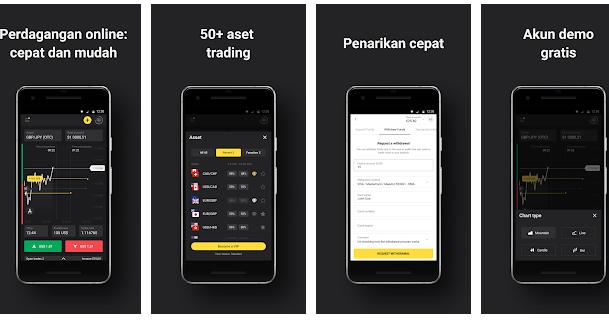 Binomo: aplikasi sederhana untuk perdagangan saham ...