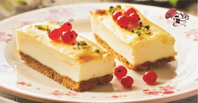 Tarta de Yogur con pistacho