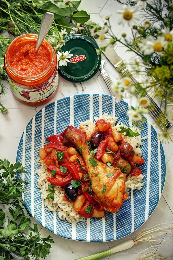 Španska piletina sa ajvarom