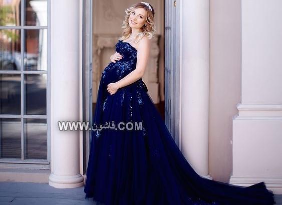 أفكارمتعددة لفساتين السواريه التى تناسب المرأة الحامل