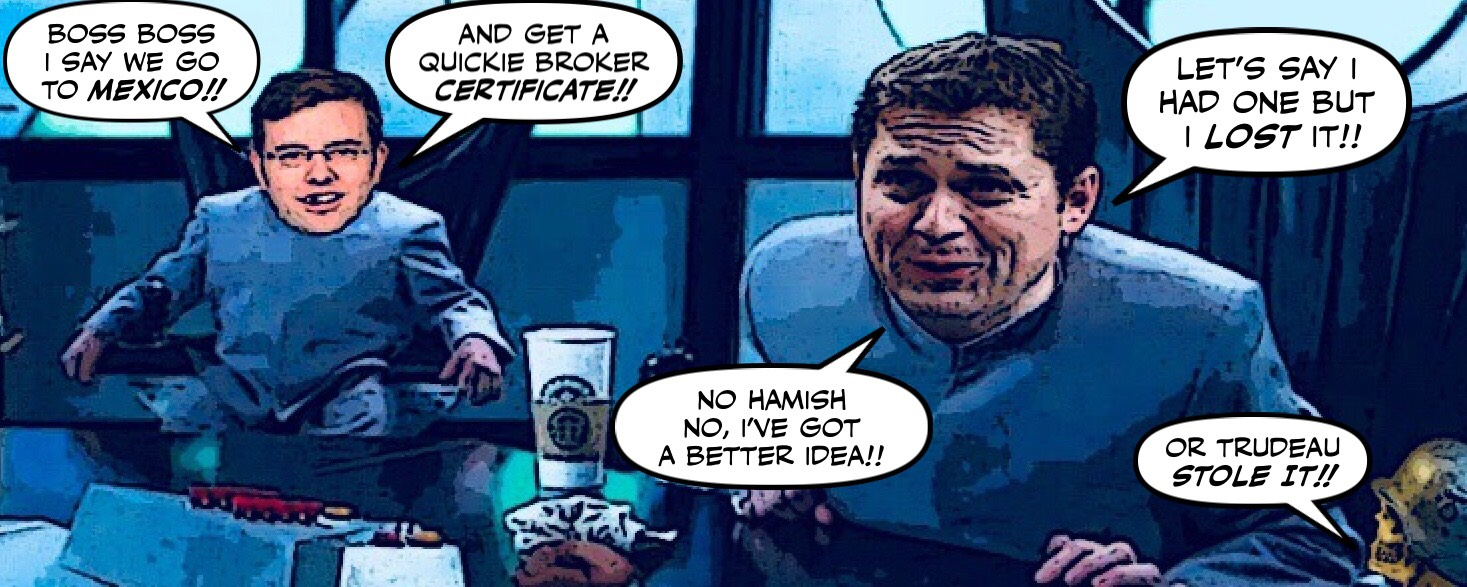 Montreal Simon Andrew Scheer And The Brokergate Scandal