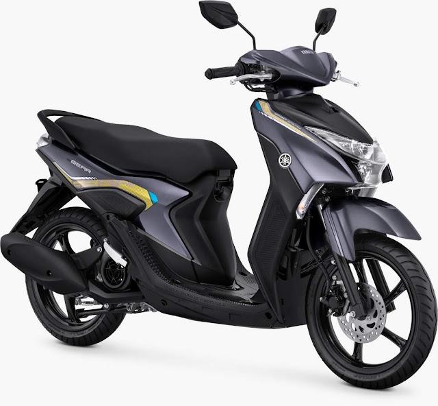 Yamaha gear 125 Metallic Grey