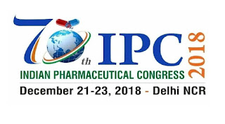 70th Indian Pharmaceutical Congress 2018