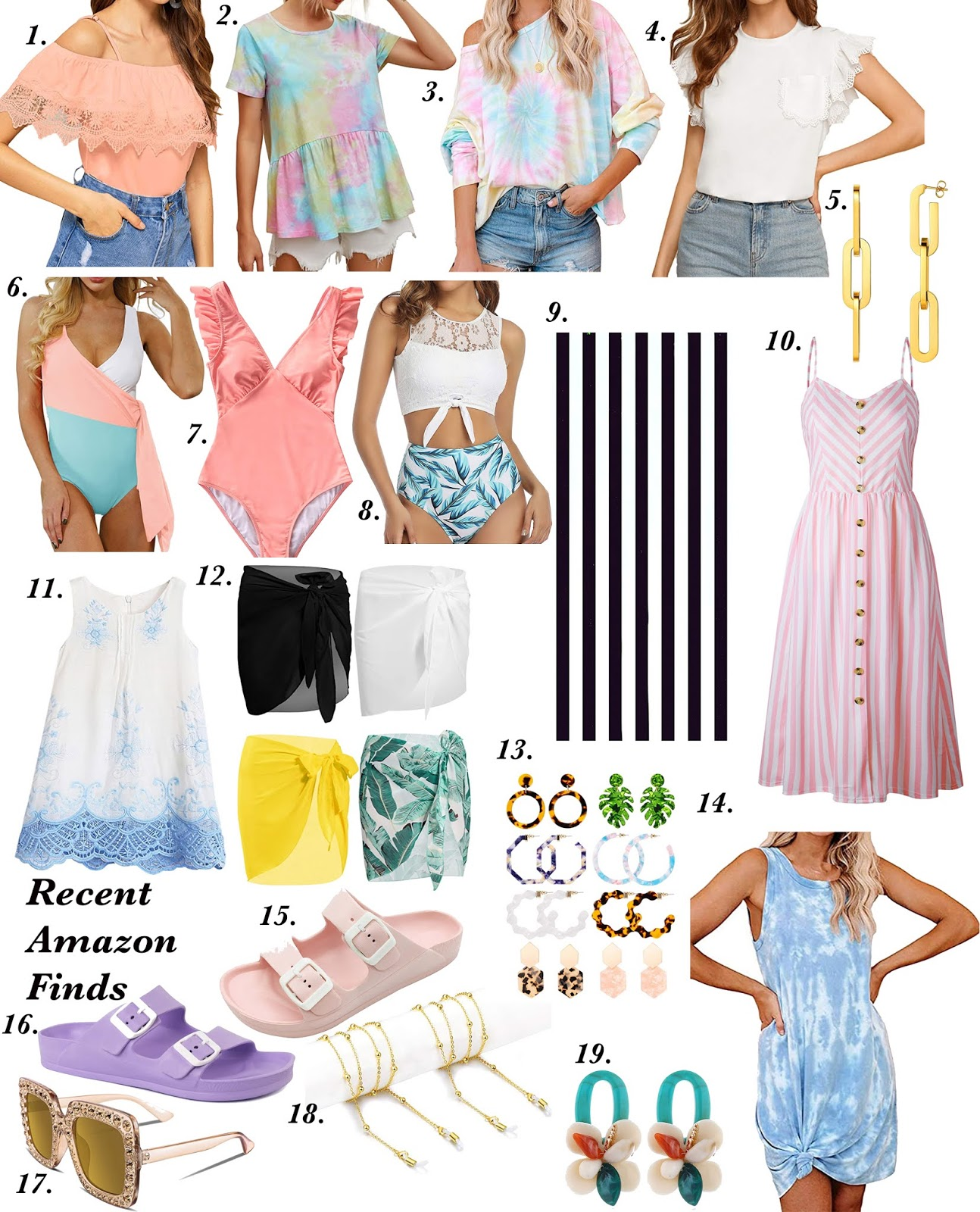 Recent Amazon Finds - Something Delightful Blog #AmazonFinds #AmazonFashion #summerstyle #beachvacay #affordablefashion