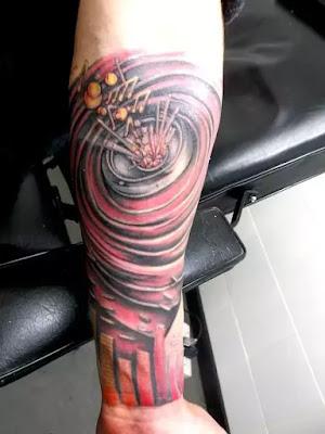 Music Temporary Tattoo Sleeve Music Tattoo Sleeve Music Etsy