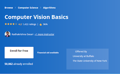 Top 5 Computer Vision and Open CV Courses and Projects for Beginners - Best of Lot