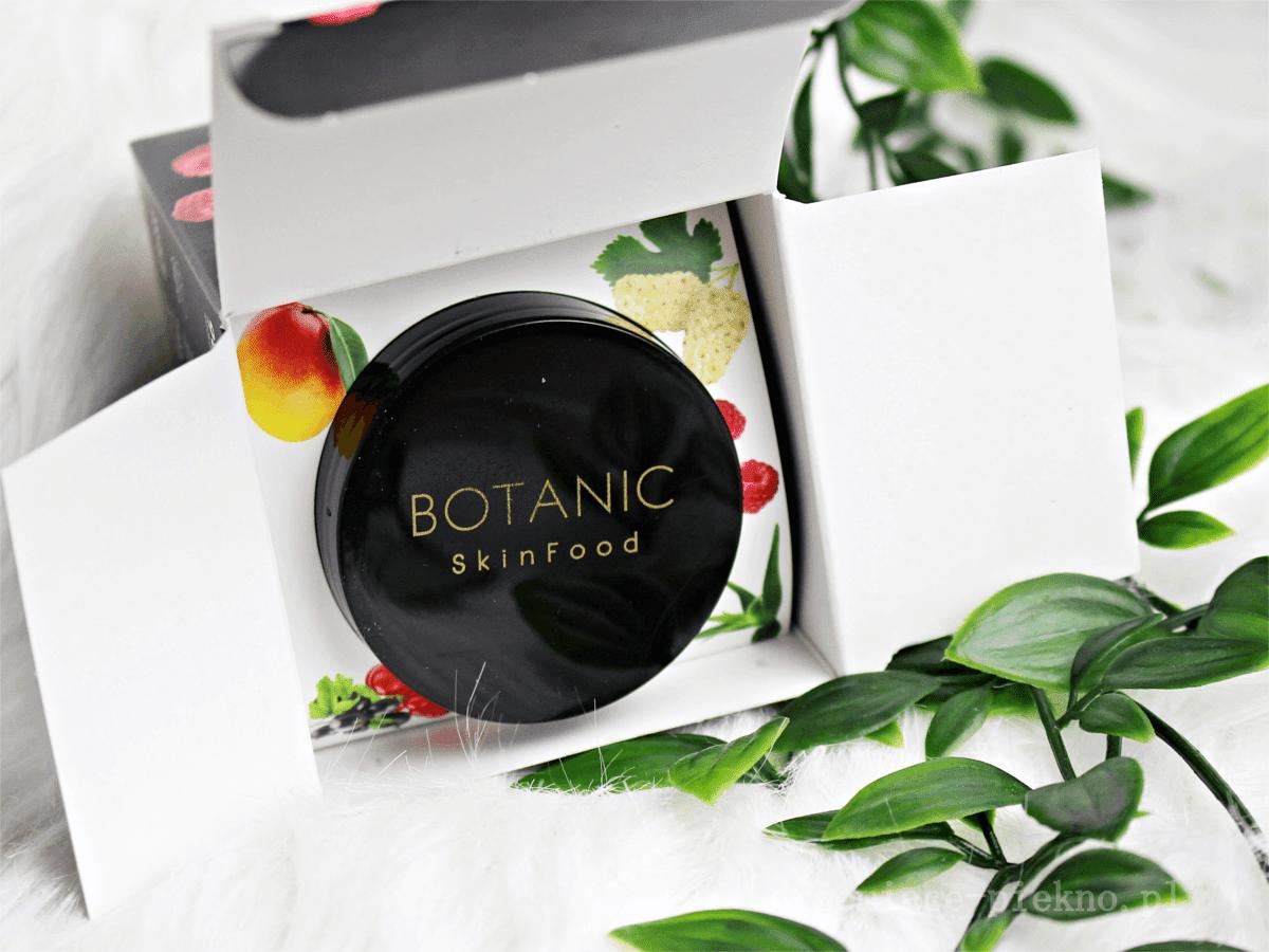 Botanic Skinfood Malinowy Peeling do twarzy maliny + eukaliptus
