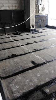 aplikasi waterproofing membrane