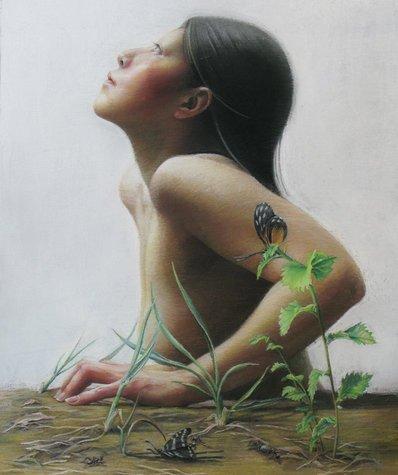 Esperança , pintura de Akiko Hoshino