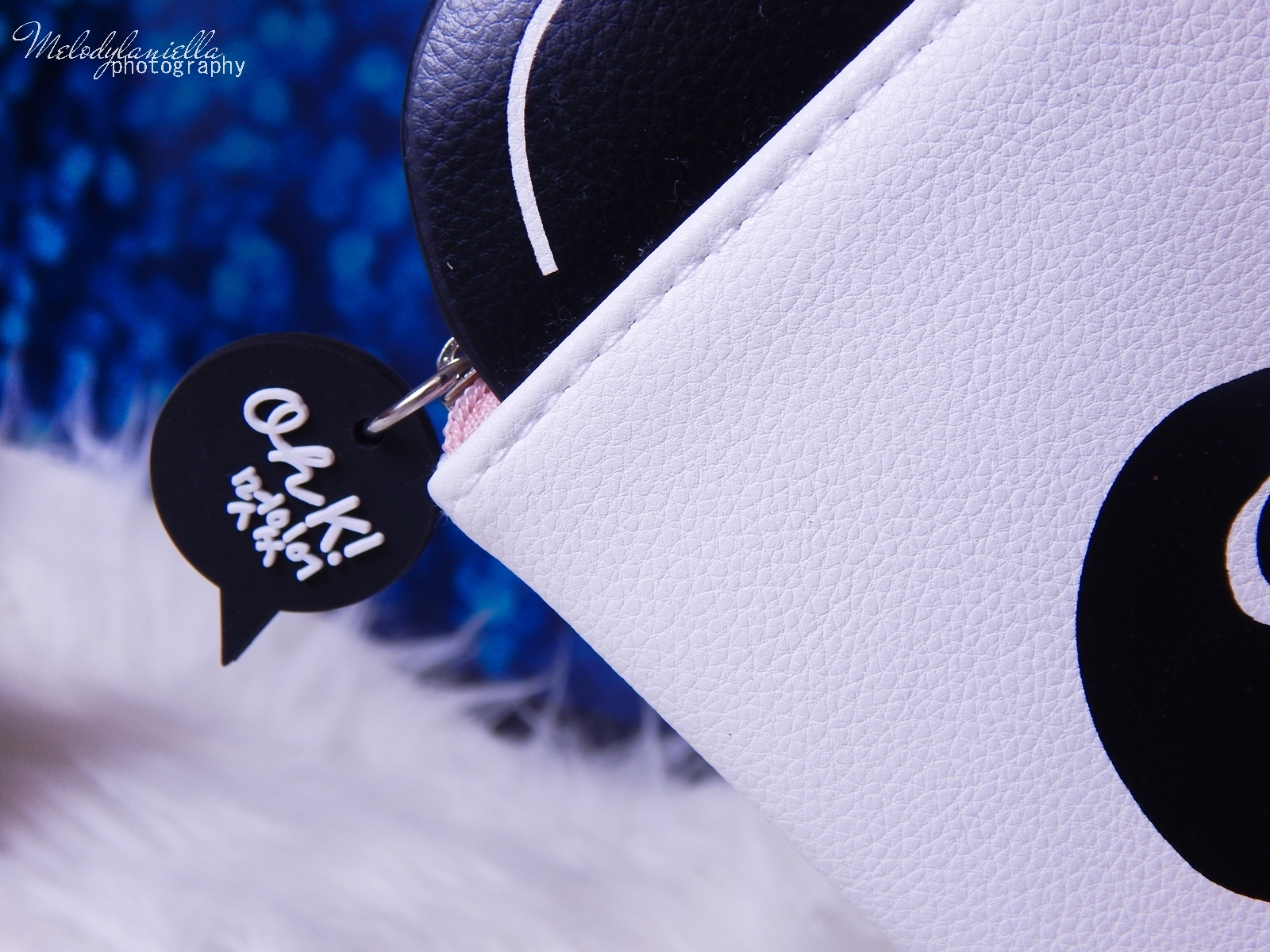 3 Oh! K Life koreańskie kosmetyki i gadżety słodkie dziewczęce dodatki maska do twarzy panda kosmetyczka w kształcie pandy lodowe płatki chłodzące okłady na oczy przeciw sińcom jak pozbyć się sińców pod oczami