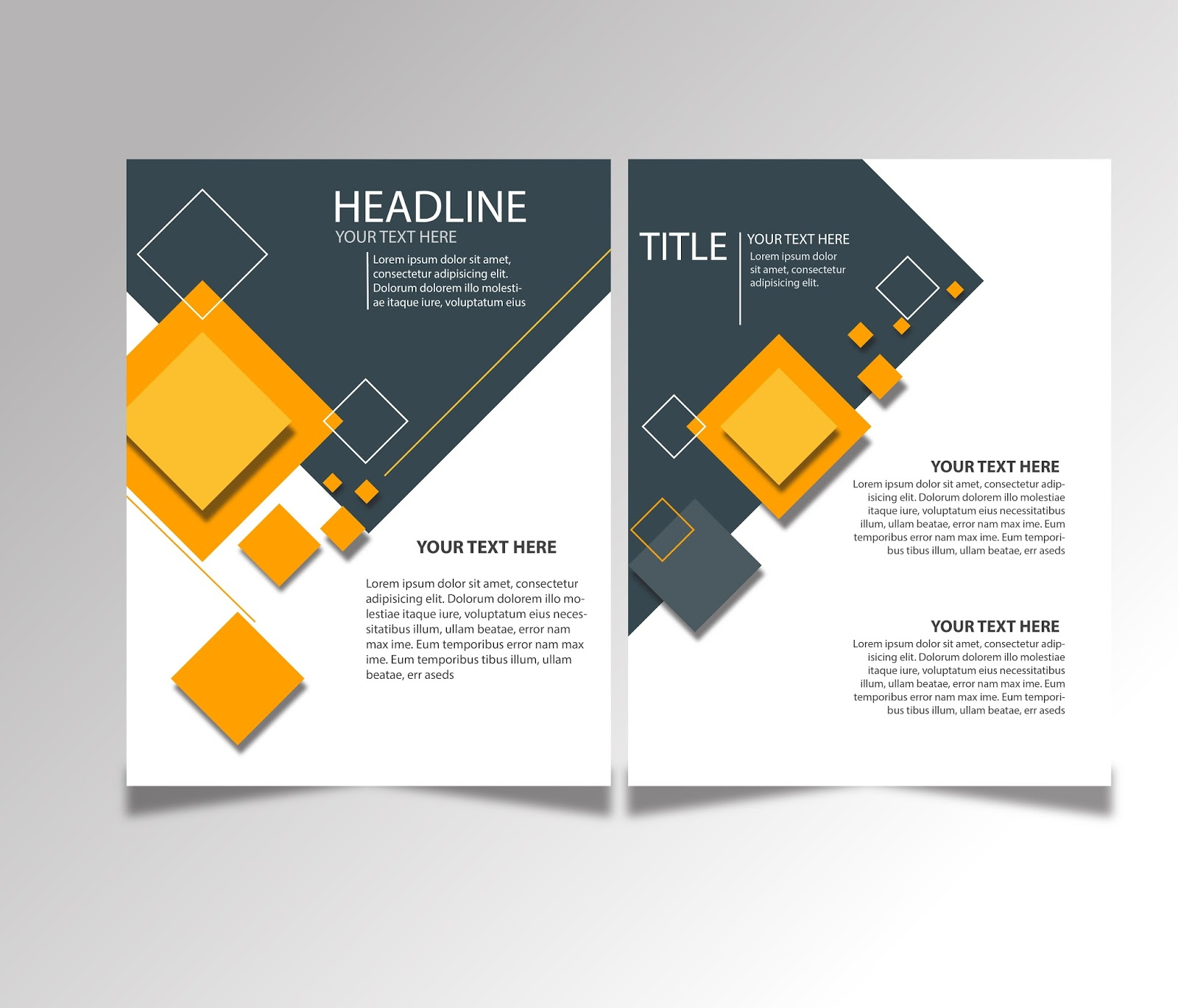 simple brochure design - free download brochure design templates ai files