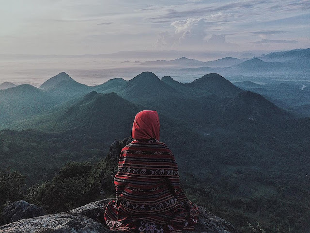 Ketingggian Bukit Cumbri Wonogiri