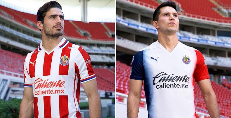 Chivas 20-21 Home & Away Kits Released - Footy Headlines