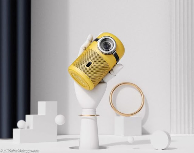 Amazing Minions-Inspired Smart Projector Developed by Chinese Designers