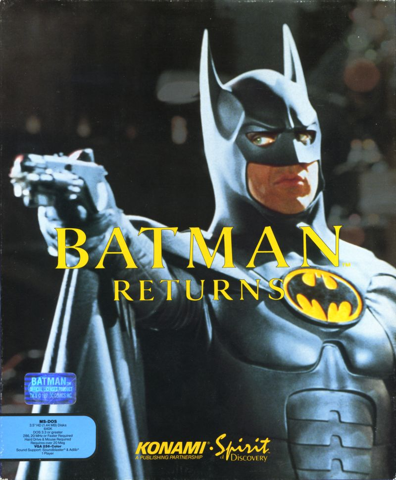 DC in the 80s: Reviewing the Batman Returns computer game (DOS)