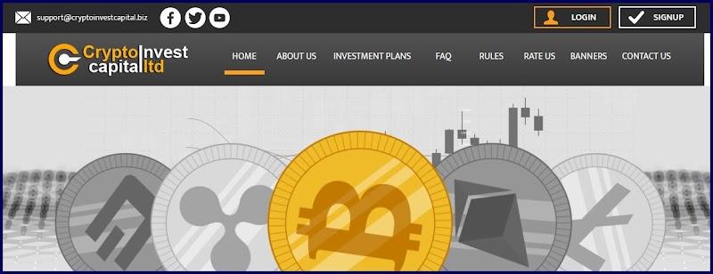 Мошеннический сайт cryptoinvestcapital.biz – Отзывы, развод, платит или лохотрон? Мошенники