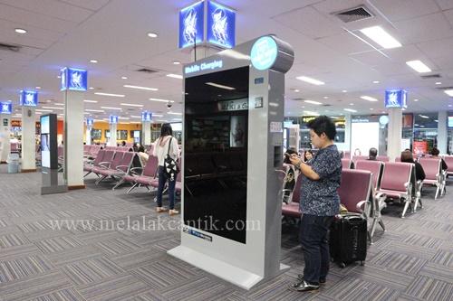 Charging area di Hat Yai Int. Airport
