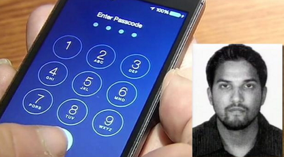San Bernardino Shooter iPhone