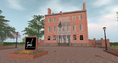 The Peale Museum in Second Life