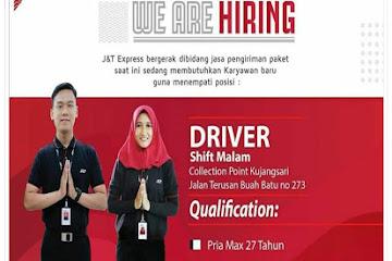 Lowongan Kerja Bandung Driver Shift Malam J&T Express