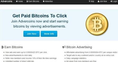 home page Advercoins