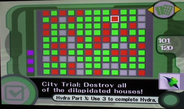Kirby Air Ride City Trial checklist destroy all of the dilapidated houses