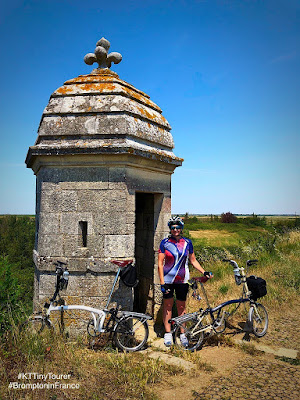 French Village Diaries #KTTinyTourer #BromptoninFrance Brouage Charente-Maritime Cycling