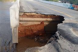 Defesa Civil Estadual mantém interdição de ponte em Riachuelo