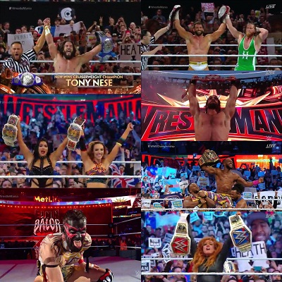 2019 WrestleMania 35: Full matches winners results, list
