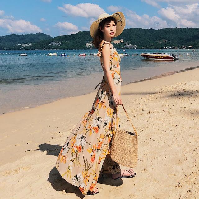Shop ban vay maxi di bien gia re o Thanh Xuan