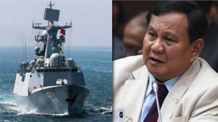 Bikin Menhan Prabowo Disorot, Begini Kronologi Bakamla Cegat Kapal China di Tengah Cuaca Buruk