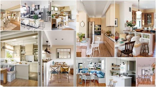 10 Σαλόνια - Καθιστικά ενιαία με Κουζίνα