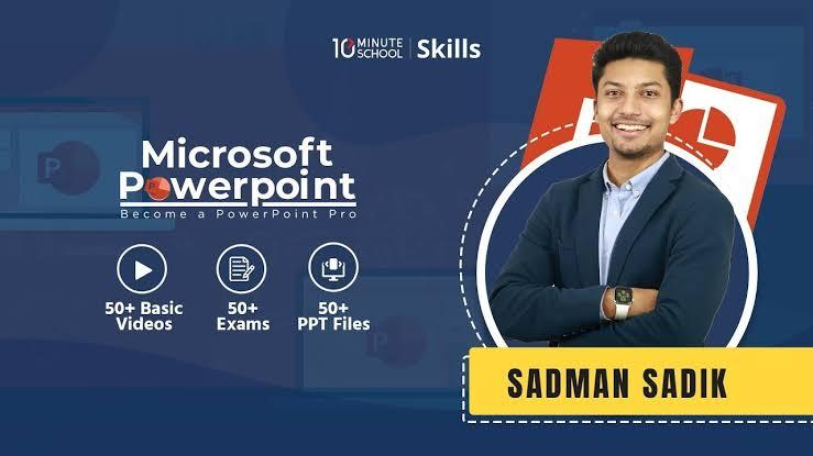 মাইক্রোসফট পাওয়ারপয়েন্ট ( Microsoft PowerPoint) কি?  সাথে থাকছে Microsoft PowerPoint by 10 minute school